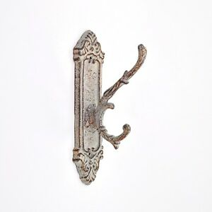 Distressed Antique Brass Coat Hook