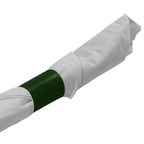 "NAPKIN BANDS HUNTER GREEN BURGUNDY Self Adhesive NEW 1 1//2/"" X 4 1//4/"" WHITE"
