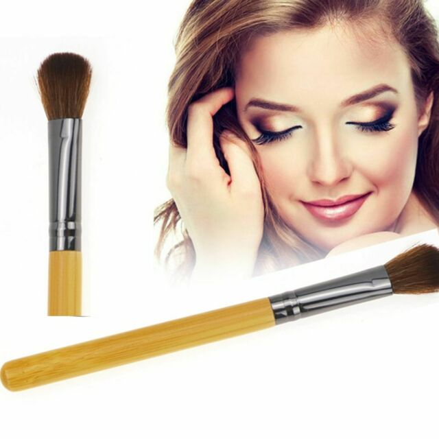 1Pc Wood color Synthetic Face Contour Blush Powder Makeup Brushes Beauty Good