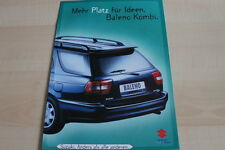 138096) Suzuki Baleno Kombi Prospekt 07/1996