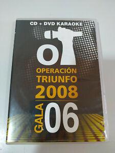 Operacion Triunfo OT Gala 06 2008 - DVD Region 2 - 2T
