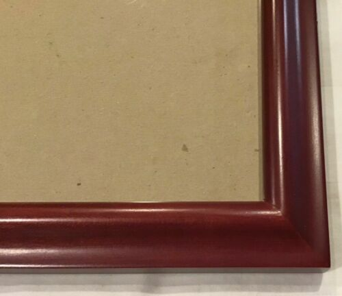 3 1//2x5 ~ Wall Mount Only Vintage Cherry Wood Picture Frame 5x7 4x6