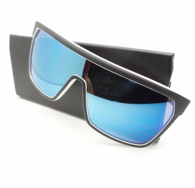 cec3224308 Spy Optics Flynn Whitewall Happy Blue Spectra New Sunglasses Authentic