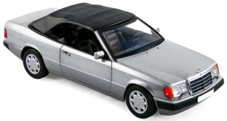 Norev Mercedes Benz W CE Cabrio e Klasse Plata 1:18 nuevo