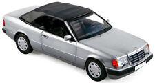 NOREV MERCEDES BENZ W124 300CE Cabriolet E Klasse Silver 1:18 New!