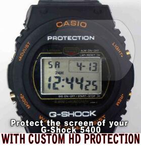 Original G Dw Protección Shock 5400 Classic Anti Detalles Casio Hd Claro Rayadura 2 Ver De Protector Título K1JlFc