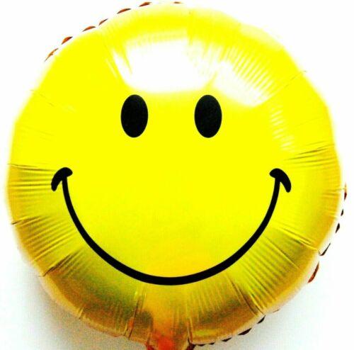 R36F19 Helium Folienballon Emoji Gelb Hochzeit Deko Geburtstag Geschenk Werbung