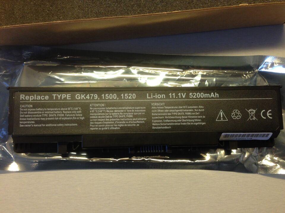 Batteri, Dell Inspiron 1520/1521/1720/1721 m.f, Perfekt