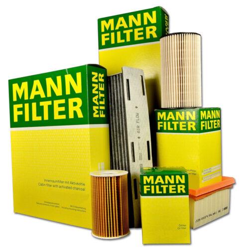 MANN Filterset Filtersatz Inspektionspaket Renault Clio III 1.2 16V 65 PS 75 PS