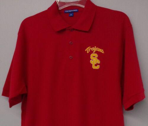University of Southern California USC Trojans NCAA Mens Polo XS-6XL LT-4XLT New