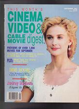Cinema Video & Cable Movie Digest September 1991 Audrey Hepburn Demi Moore