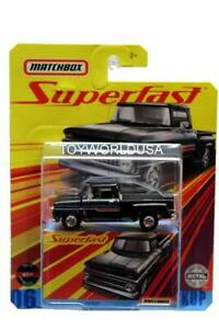 MATCHBOX SUPERFAST 1963 CHEVY C10 PICKUP  Real Riders