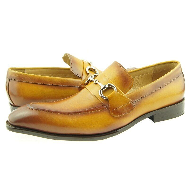 tutti i beni sono speciali Carrucci Bit Mocassini, Uomo Non Stringato Stringato Stringato Scarpe in Pelle  promozioni