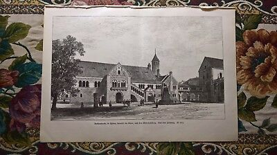 1889 Druck 641 Braunschweig Dankwarderode
