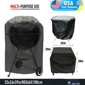 BBQ-Gas-Grill-Cover-39-034-Barbecue-Waterproof-Outdoor-Heavy-Duty-Protection-USA