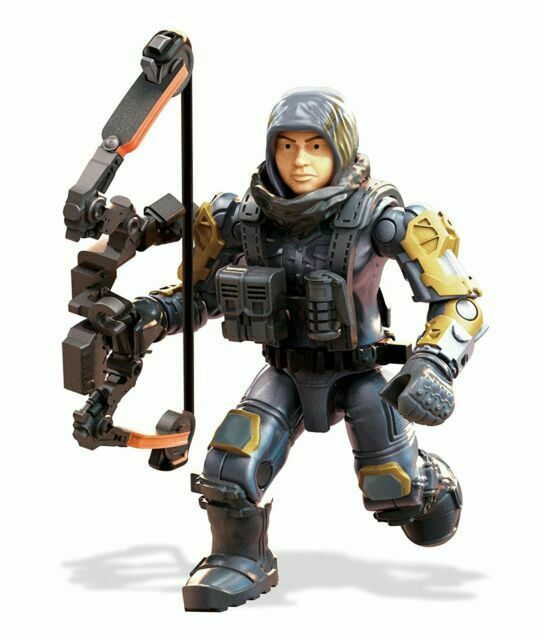 Mega Construx Halo Heroes ODST Graves Toy Multicolor