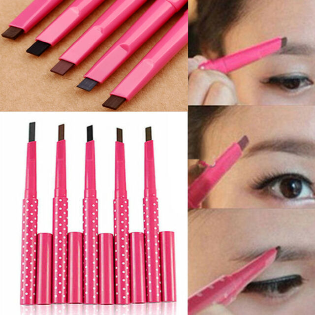 New Beauty Makeup Waterproof Eyebrow Pencil Liner Eye Brow Powder Cosmetic Tool