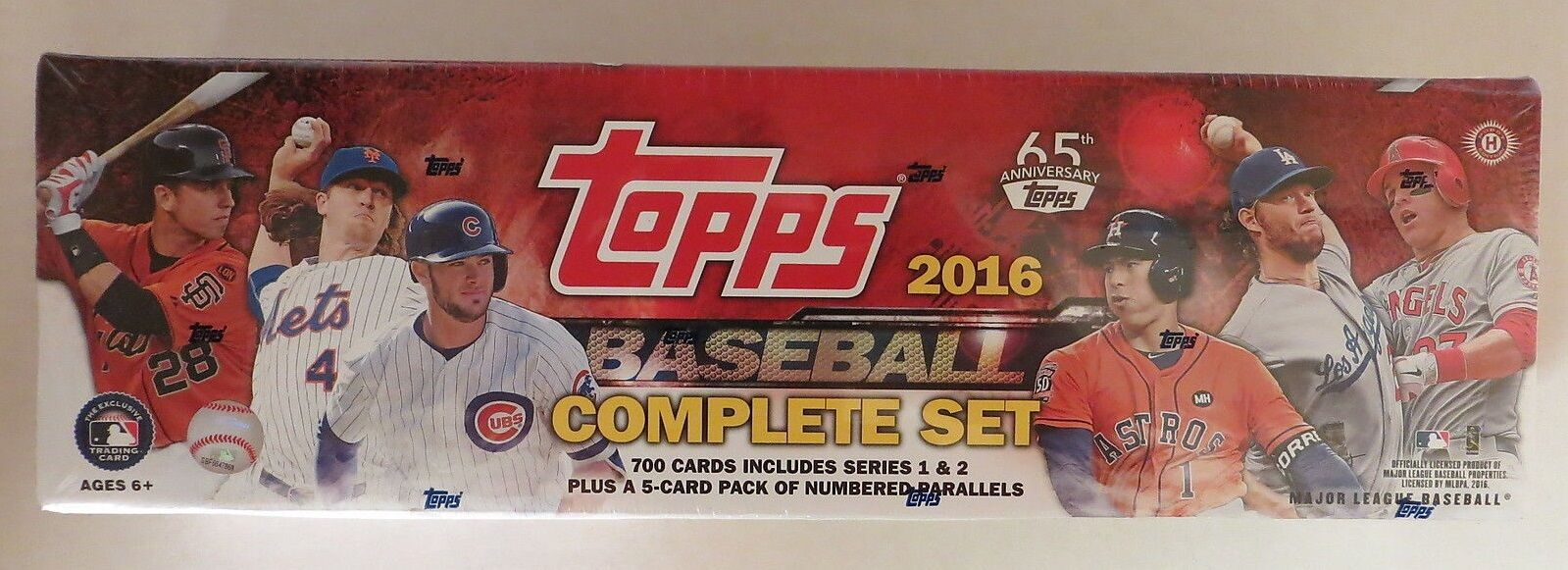 2016 Topps Complete Baseball Card Series 1 2 Rookies