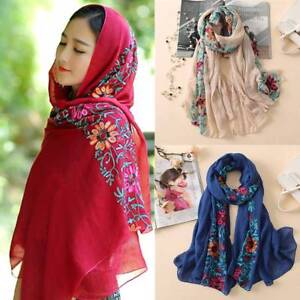 Floral-Viscose-Scarf-Shawl-From-Indian-Bandana-Print-Cotton-Scarves-Muslim-Hijab