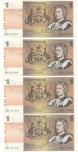 Aust-1979-Cons-run-of-4-1-Knight-Stone-QEII-R-77-aUNC-C-V-40-aUNC