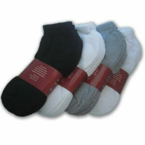 White, 10-13 Wholesale Lot 48 Pairs Mens Sport Socks Ankle//Quarter Crew Athletic Socks