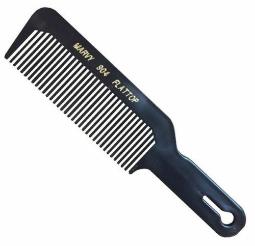 Marvy Flat TopFade Barber's Hair Clipper Cutting Comb 904 BlackSAME DAY POST