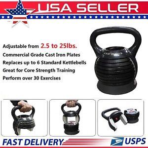 Adjustable-Kettlebell-Fitness-Gear-Workout-Weights-Strength-Training-2-5-25lb-US