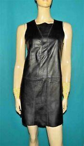 robe-BILL-TORNADE-en-cuir-agneau-noir-taille-38-fr