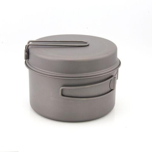 TOAKS CKW-1350 Cookware Set Ultralight Titanium Pot Frying Pan Camping Mugs