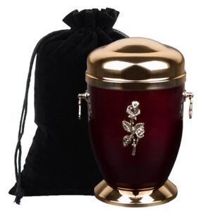 Denkmal Asche Einäscherung Urne Für Erwachsene Mit Rose Beerdigung