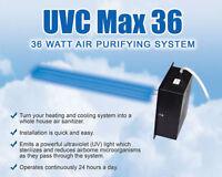 Uvc Max36 Air Purifying System Uv Light For Furnace Ac
