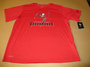 dc61a9560 Tampa Bay Buccaneers NFL Legend Lockup Men's Dri Fit T-Shirts Red By ...