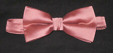 Lot of 10 Ginger Pink New Mens Bow Ties Great for Singing Groups Bands Church