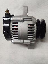 "Ultra Mini 12 volt 60 amp 1 wire Denso style alternator Racing 4"" Dia 6"" Long"