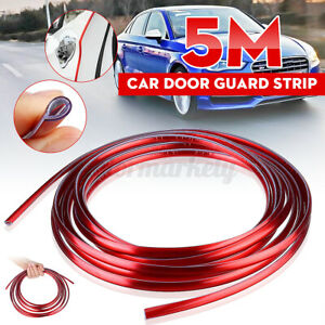 5M-Car-Door-Edge-Boot-Guard-Protector-U-Shape-Seal-Moulding-Strip-Trim-Gloss