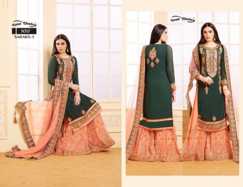 indian pakistani suit dress sharara suit plazo sui