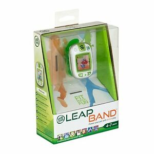 LeapFrog-LeapBand-Green-Kids-Leap-Band-Activity-Watch-Ages-4-New-Boys-Girls-Toy