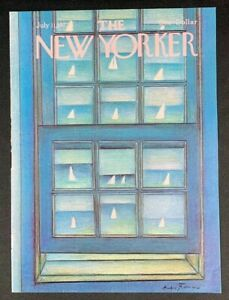 The-New-Yorker-Magazine-July-11-1977-Francois-COVER-ONLY