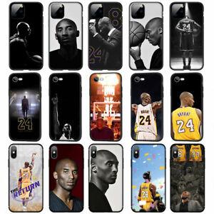 Kobe-Bryant-24-Soft-TPU-Case-for-iPhone-11-Pro-XS-MAX-XR-X-8-7-6-6S-Plus-5-5S-SE