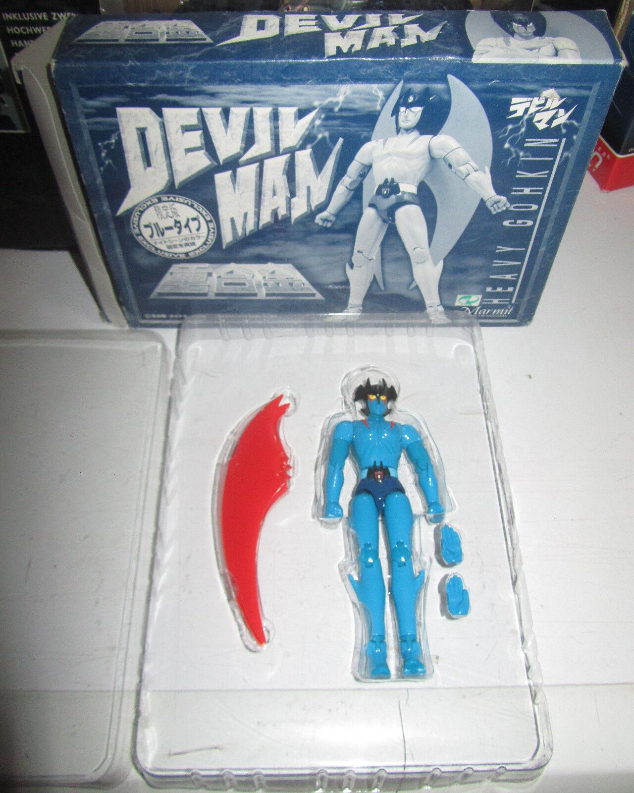 Devilman Marmit fuori catalogo colorazione blue SPESE GRATIS