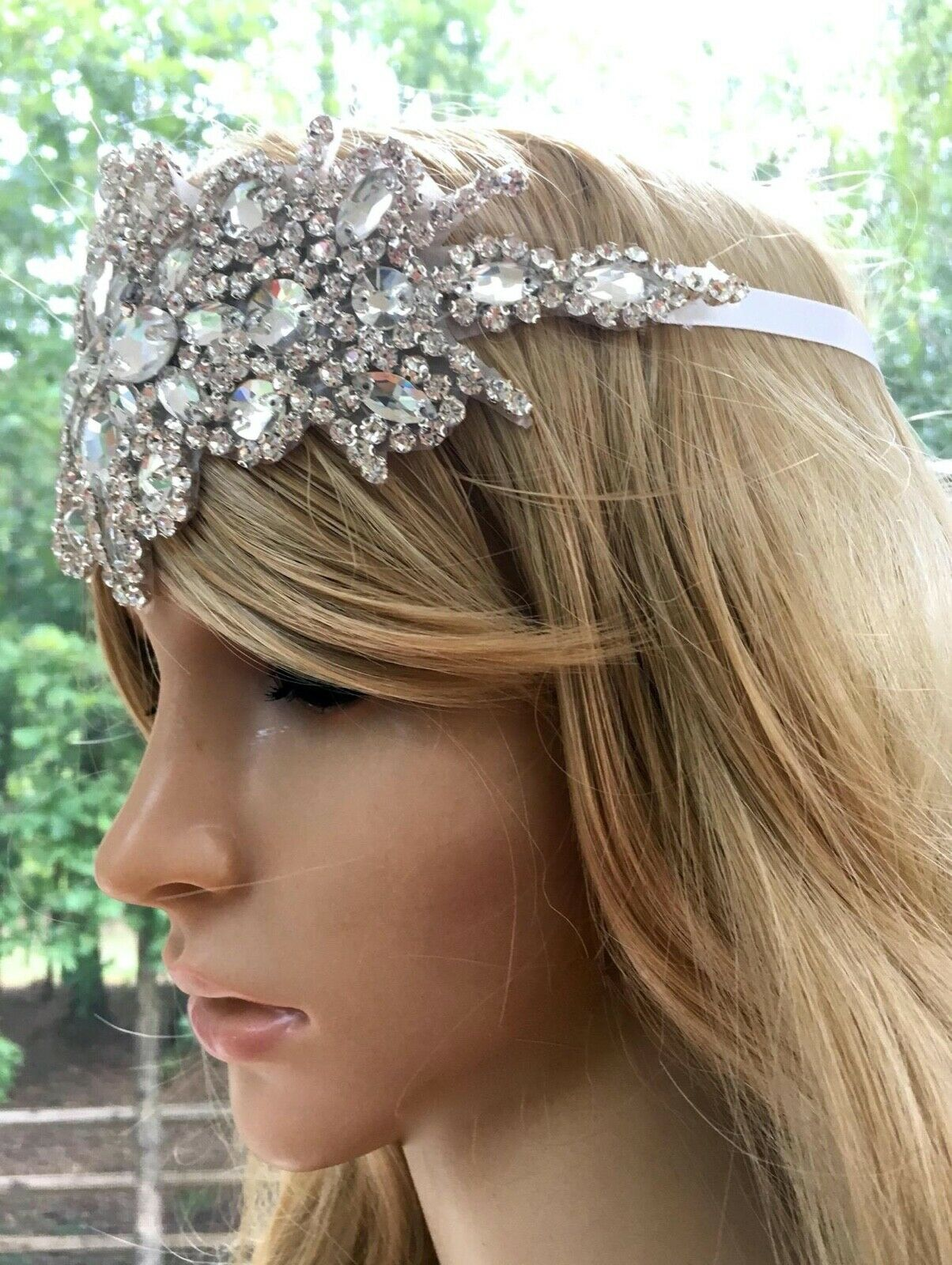 Flapper Bridal Headpiece