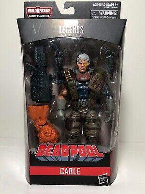 I Marvel Legends Hasbro Sasquatch BAF Series X-Force Deadpool Action Figure