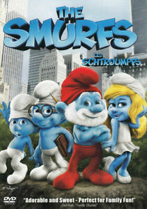 THE-SMURFS-BILINGUAL-DVD-Free-shipping-In-Canada
