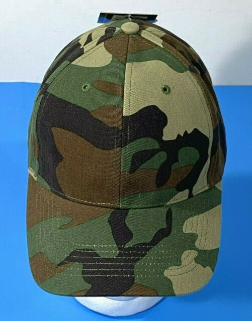 Woodland Camo Cap Ballcap Hat Low Profile Ships In No Crush Box Rothco 8285
