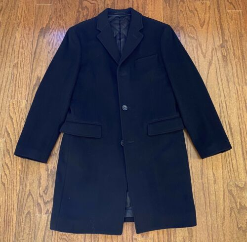 J. Crew Ludlow Italian Wool Cashmere Topcoat Thins