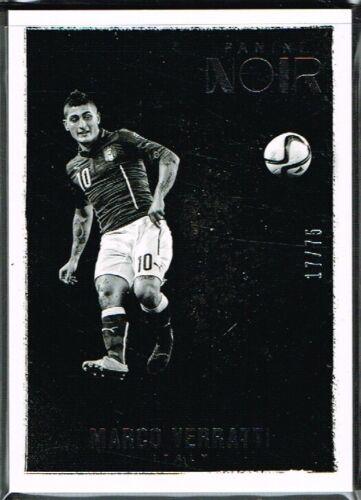 Panini Noir Soccer 2016-2017 ☆ ☆ Blanco Y Negro Tarjetas De Fútbol #//75