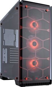 Corsair Crystal 570X RGB Tempered Glass ATX Gaming PC Case...