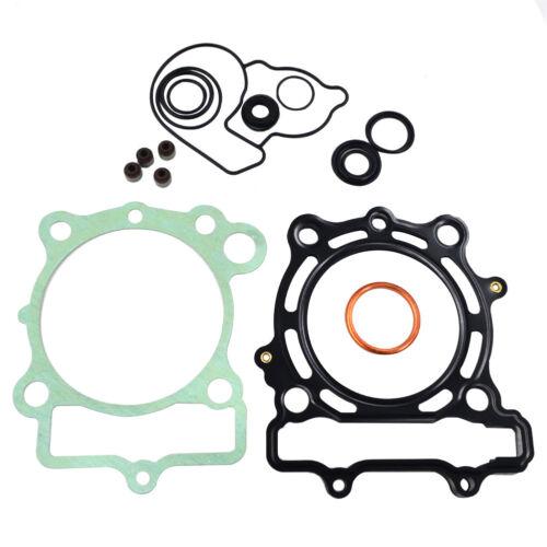 Cylinder Piston Ring Gasket Fuel Pipe 40cm Filter Kit For Kawasaki KXF 250 09-16