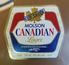 VINTAGE CANADIAN BEER LABEL - MOLSON BREWERY, CANADIAN NEW TASTE LAGER 341 ML