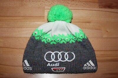 DSV Adidas Audi Skimütze Bommelmütze Wintermütze Strickmütze